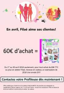 AVRIL 2016 Flyer Filaé bonus clientes